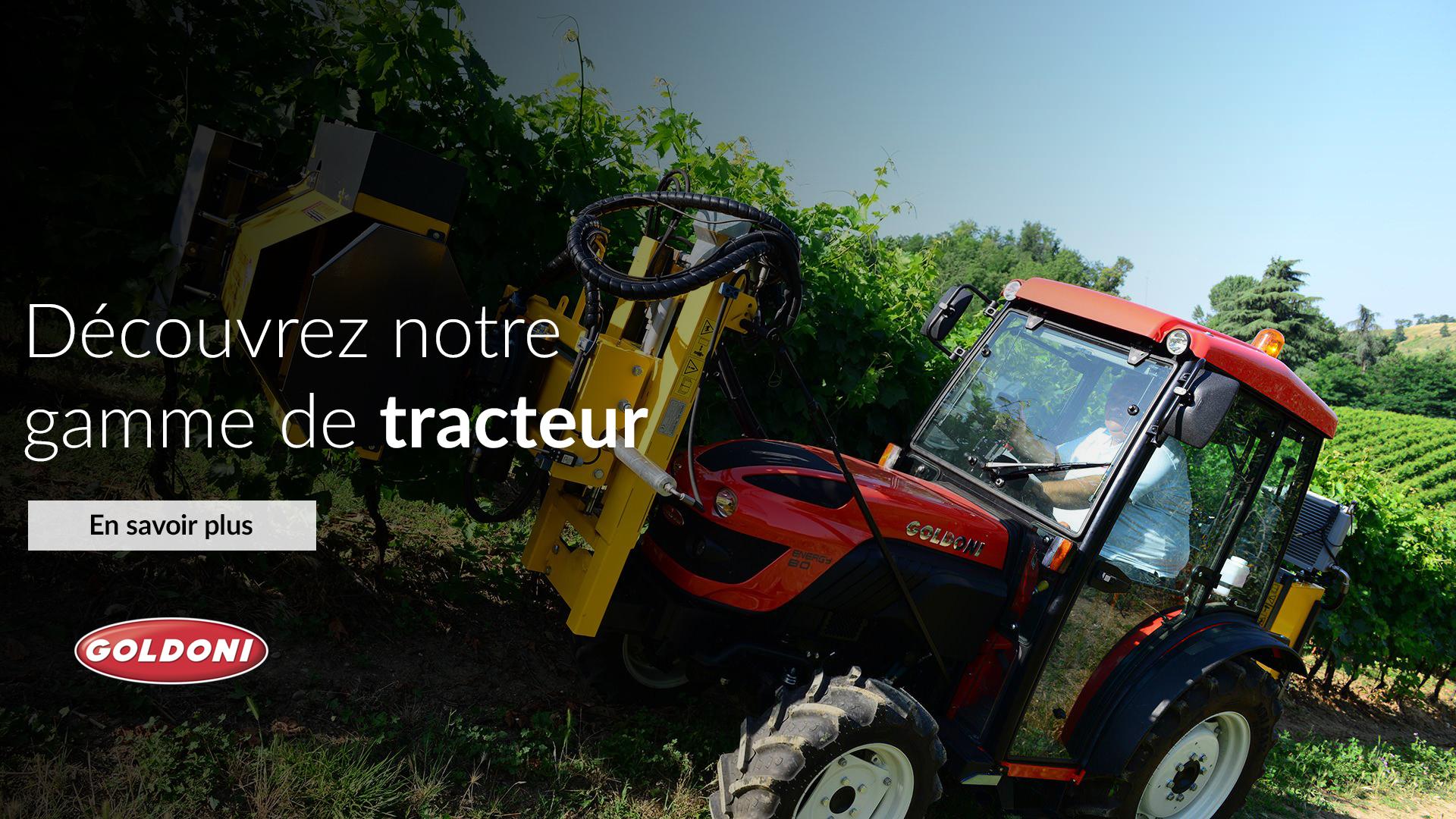 Découvrez notre gamme de tracteur